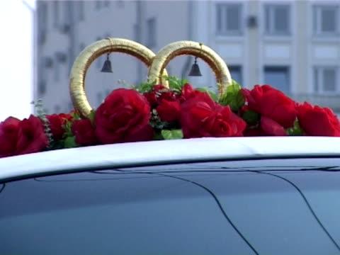 wedding in moscow  4 - röda torget bildbanksvideor och videomaterial från bakom kulisserna