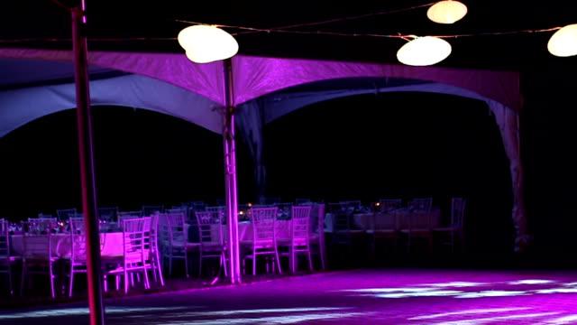 bröllopsmottagning - dansbana bildbanksvideor och videomaterial från bakom kulisserna