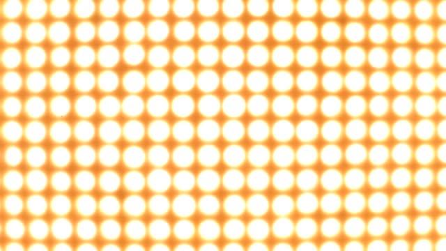 A wedding texture made of many yellow light bulbs.