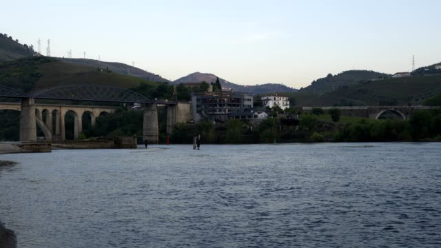 Weight of the water with Douro river, in Portugal