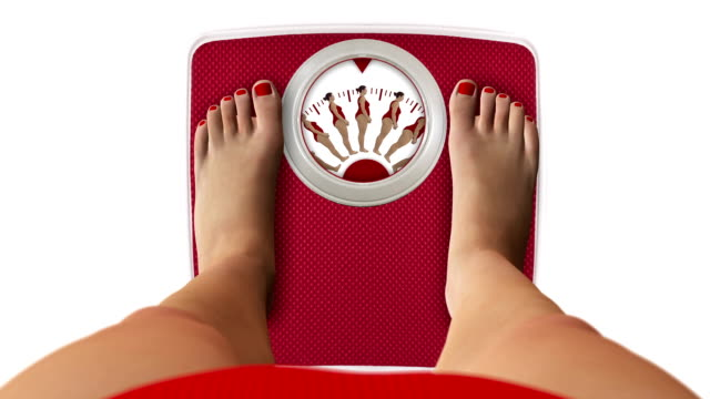 Weight Scale with figures video