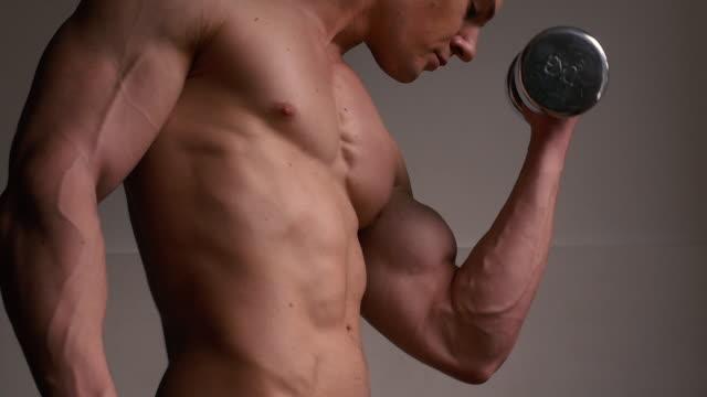 筋力トレーニング  - ボディビル点の映像素材/bロール