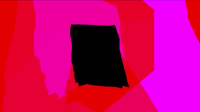 vidéos et rushes de animation de formes bizarres - psychédélique
