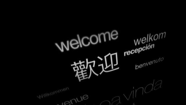 Bienvenue, International langues - Vidéo
