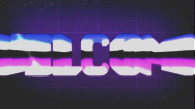 Welcome Retro video