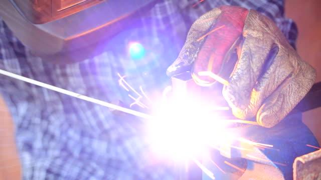 welder - elektroda filmów i materiałów b-roll