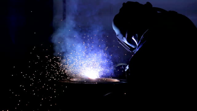 Welding pipe video