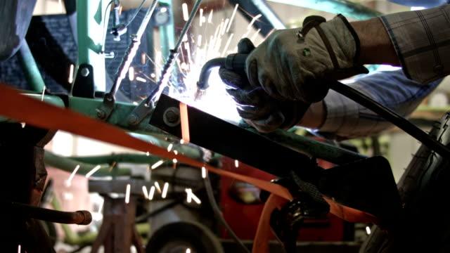 溶接鋼車パークのワークショップ HD ビデオ