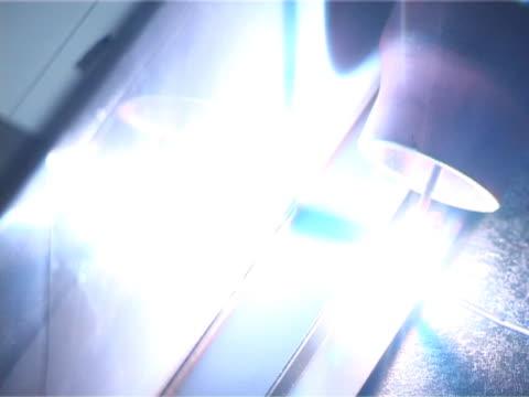 Welding Welding in argon dioxide shield. wrought iron stock videos & royalty-free footage