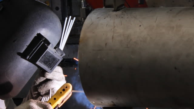 Welding  stainless steel stock videos & royalty-free footage