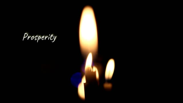 Well-Being and Fulfillment - Candles Secret Powers video