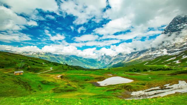 wengen utsiktsplats för resa i schweiz - wengen bildbanksvideor och videomaterial från bakom kulisserna