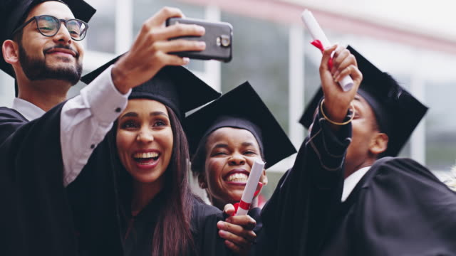 we're living life fully! - graduation stock videos and b-roll footage