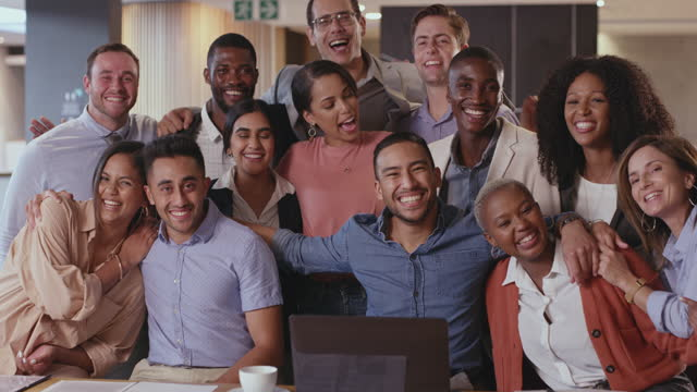 We're the foundation of the business 4k video footage of a diverse group of businesspeople sitting together in the office human age stock videos & royalty-free footage