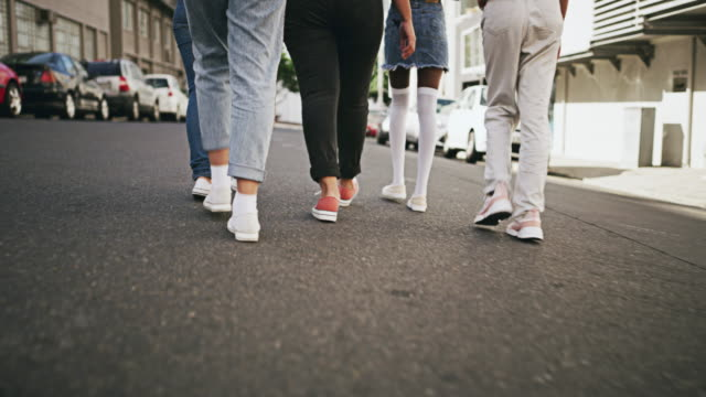 we're walking this journey together - city walking background video stock e b–roll