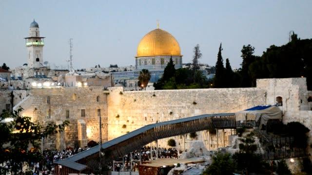 Western Wall in Jerusalem video
