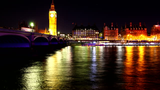 Westminster's Bridge time lapse video