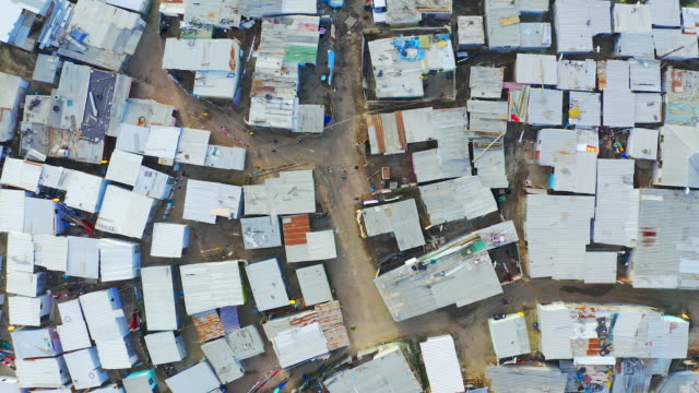 What many South Africans wake up to everyday 4k drone footage of a township in South Africa cape town stock videos & royalty-free footage