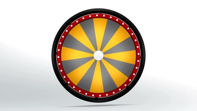 wheel fortune sixteen black orange video