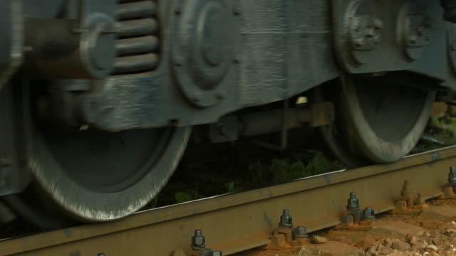 Wheels of the locomotive video