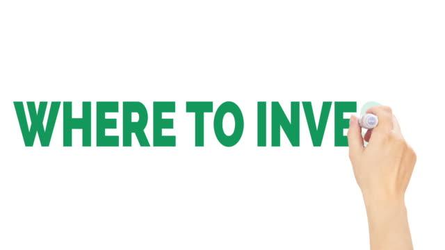 vídeos y material grabado en eventos de stock de dónde invertir - accesorio financiero