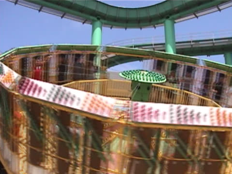 Whirling Amusement Ride video