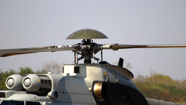 Whirling blades helicopter working close-up Whirling blades helicopter working close-up us military stock videos & royalty-free footage