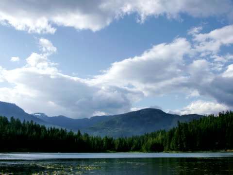 stockvideo's en b-roll-footage met whistler time-lapse ntsc - natuurgrond