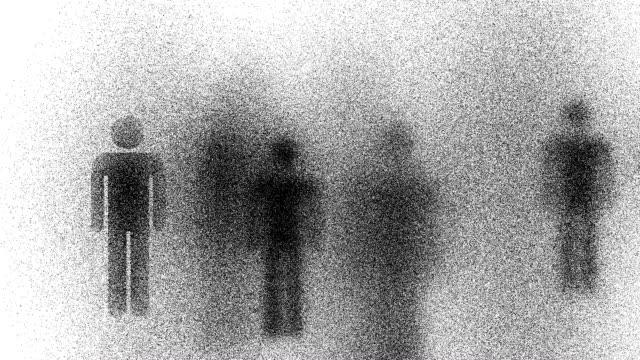 MAN : white back - (LOOP) video