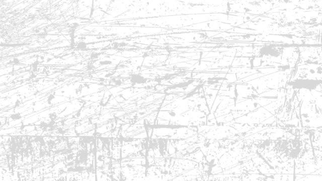 vídeos de stock, filmes e b-roll de fundo branco com arranhões leves. textura grunge 60 fps - wall texture
