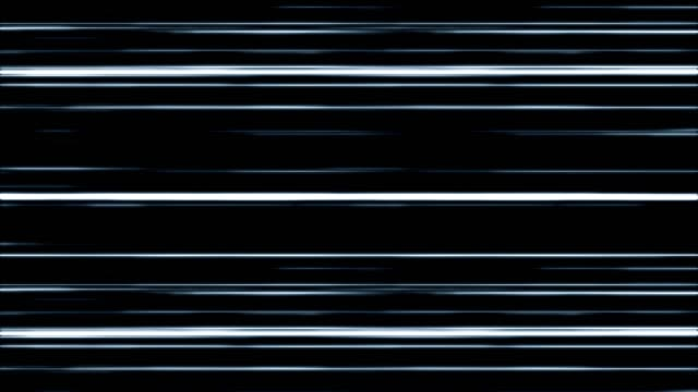 white blue digital light lines moving. - in fila video stock e b–roll