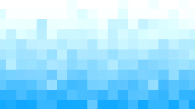 white blue mosaic tile loopable background video