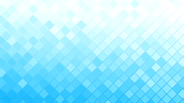 white blue rhomb mosaic tile loopable background video