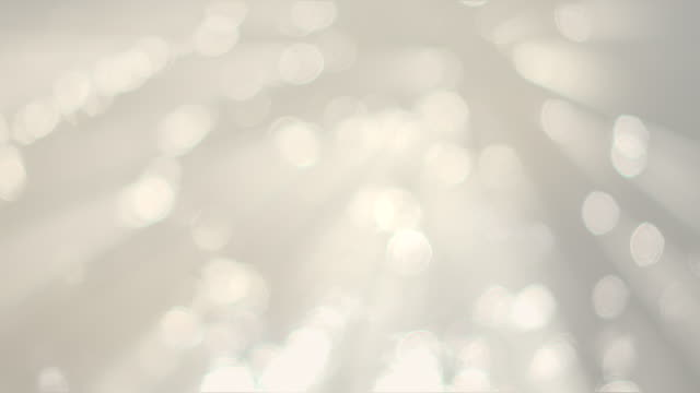 White Bokeh Backgrounds Loop Able