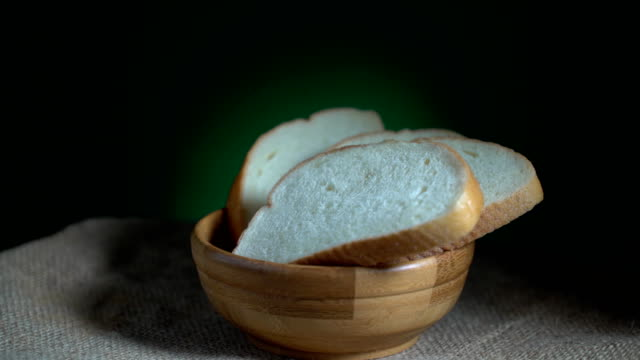 白パン回転単発 - 食パン点の映像素材/bロール