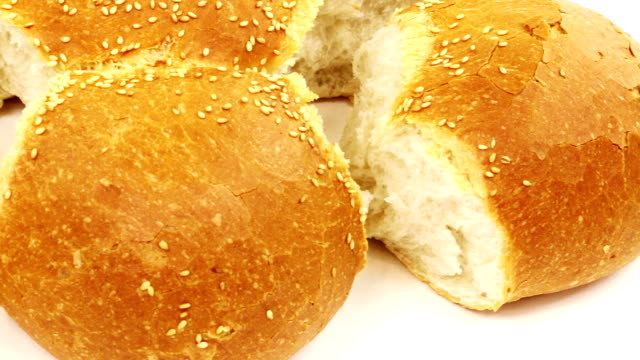 精白パン - 食パン点の映像素材/bロール