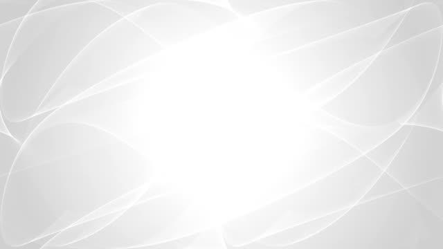 Curve astrazione bianco - video