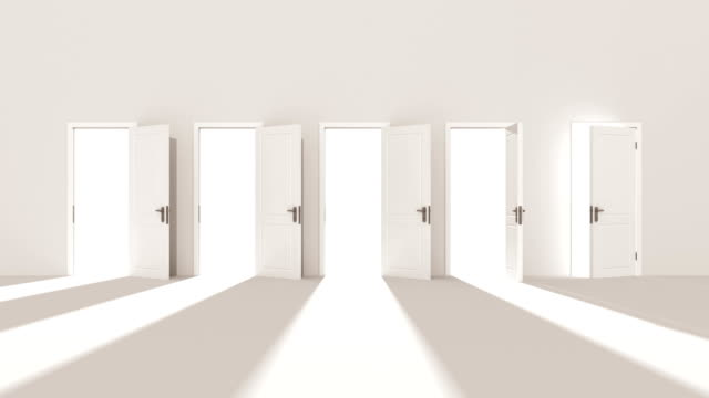 White Doors Opening to the Bright Light. Right Choice and Religion Concept. Beautiful 3d Animation Moving Into Central Doorway. Alpha Mask. White Doors Opening to the Bright Light. Right Choice and Religion Concept. Beautiful 3d Animation Moving Into Central Doorway. Alpha Mask. 4k Ultra HD 3840x2160. chance stock videos & royalty-free footage