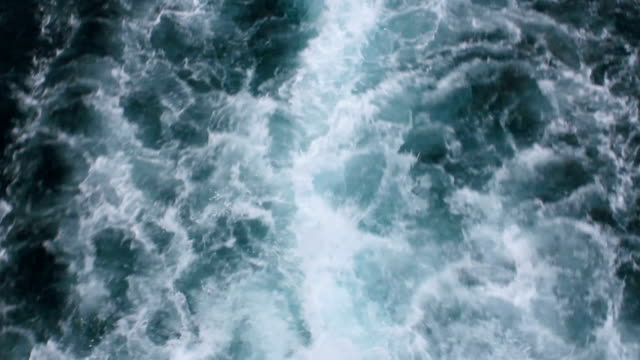 White foaming sparkling sea water turquoise colored ship propeller waves White foaming sparkling sea water turquoise colored ship propeller waves propeller stock videos & royalty-free footage