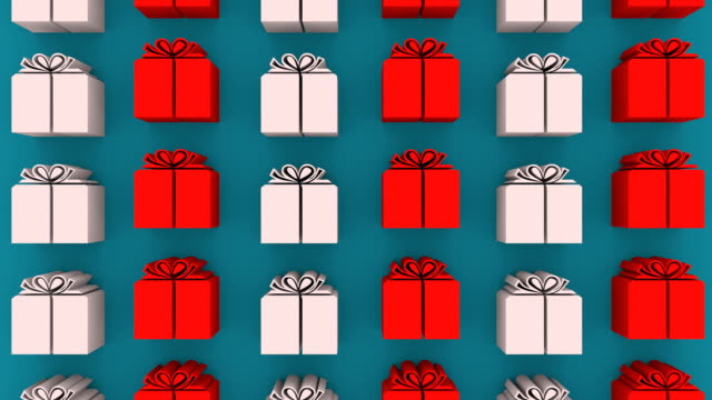 white gift boxes vertical moving - holiday background стоковые видео и кадры b-roll