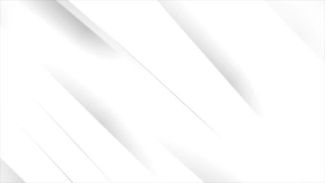 vidéos et rushes de blancs gris rayures lisses entreprises résumé vidéo animation - gris