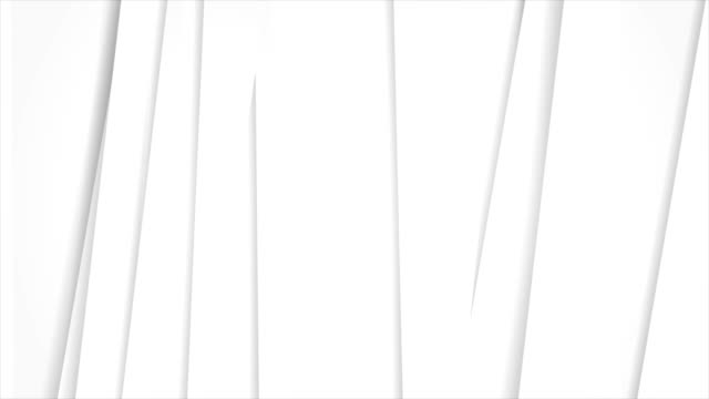 White grey corporate stripes abstract tech video animation