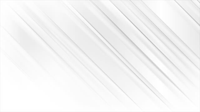 White grey smooth stripes abstract modern motion background