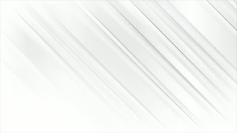 White grey smooth stripes abstract modern motion background White and grey smooth glossy stripes abstract geometric motion background. Seamless looping. Video animation Ultra HD 4K 3840x2160 gray color stock videos & royalty-free footage
