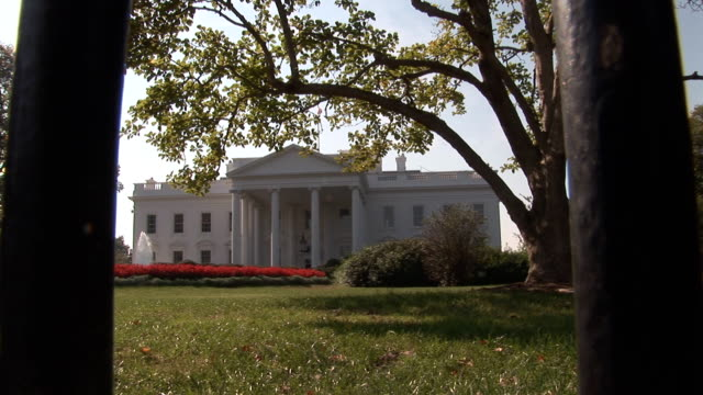 White House behind bars video