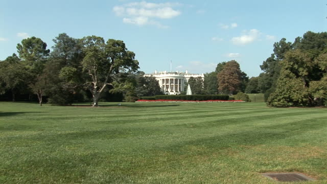 White House - extreme wide plus zoom video