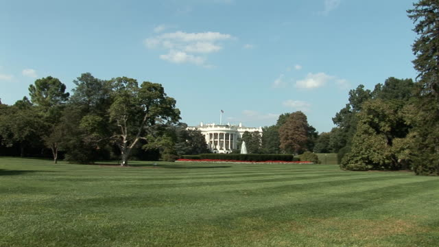 White House - extreme wide video