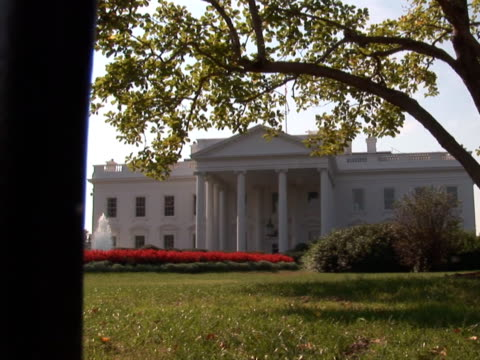 NTSC: White House - fence video