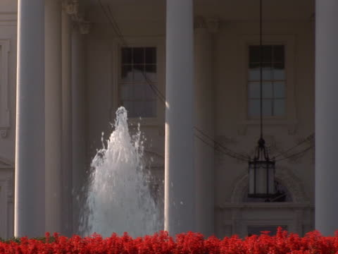 NTSC: White House - fountain video