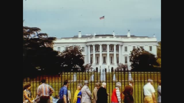 USA 1974, White house in Washington